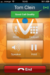 good quality calls with vonage mobile