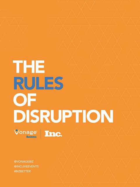 The Rules of Disruption